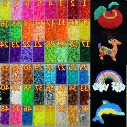 500pcs 5mm DIY Hama Beads Child Toy Eva Perler Beads Jigsaw