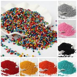500pcs/lot 3mm Solid Color Czech Glass Seed Spacer <font><b>