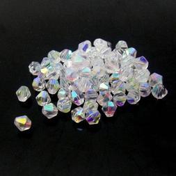 #5301 jewelry 3mm  Swarovski Crystal Bicone bead 1000pcs Whi