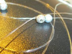 .5mm Elastic Crystal Clear Beading Cord Stretch String Makin