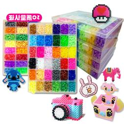 5mm Hama beads 24/48 Colors Toy Fuse Bead for kids DIY hand