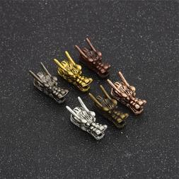 5Pcs/Lot Metal Hair Braid Dread Dreadlock Dragon Head Clips