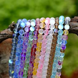 6-10mm Mystic Aura Quartz Gemstone Loose Beads Holographic Q