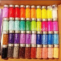 600pcs/bottle 2.6MM HIGHGRADE Hama Perler color Iron Fuse Mi