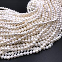 7-8mmAA Freshwater Pearl <font><b>Beads</b></font> Geniune W