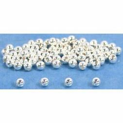75 Round Ball Beads Sterling Silver Beading Parts 2mm