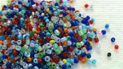 8 ozs seed cylinder beads 11 0