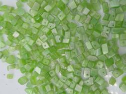 80g Green Cat Eye Small Chip Beads; Bulk Lot; CLEARANCE; LAS
