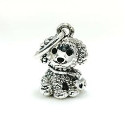 925 ALE Sterling Silver New Authentic Pandora Charms Dog Bra