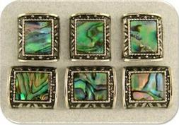 Abalone Beads Seashell Mother of Pearl Ocean Sea Silver 2 Ho