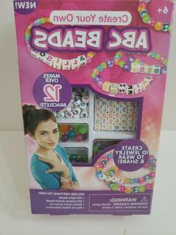 ABC Letters Beads Jewelry Kit makes 12 Personalized Bracelet