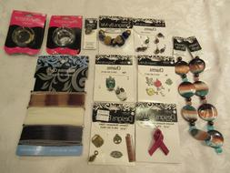 Blue Moon Accents/Strands/Beads & 2 Lockets Lot of 12 pcs St
