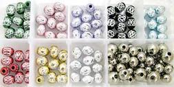 Bead Craft Kits Aluminum Beads DIY Kit for Jewelry Making DI
