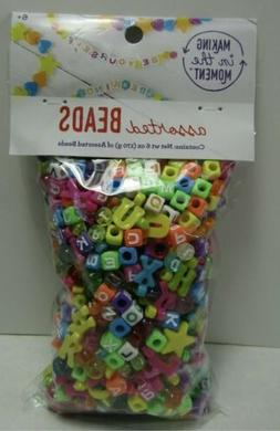 Assorted Beads 6oz - Making in the Moment - Pony Letter Shap