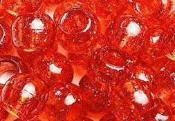 Tara Assorted Color Design 60 Pieces Plastic Beads 12 x 12 m
