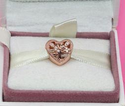 AUTHENTIC PANDORA  Openwork Family Tree Heart Charm, 788826C