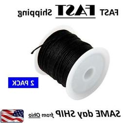 beading thread black jewelry making cord string
