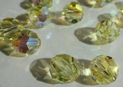 Swarovski crystal beads 8mm 5000 JONQUIL AB - bulk pack