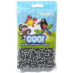 Perler Beads Bag, Zebra Stripe, 1000 Count