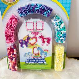 Perler Beads Fused Bead Kit, Rainbow Pony Frames