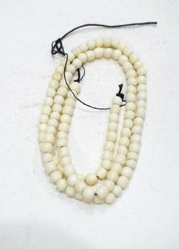 Beads Indonesian Round Bone Beads 5mm