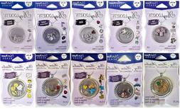 BLUE MOON BEADS Story Lockets Metal Charms - VARIOUS STYLES