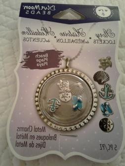 Blue Moon Beads Story Lockets Metal Charms Various Styles Fl