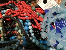 Blue Moon, Darice, & Mixed Beads, Jewels & Stones - You Pick