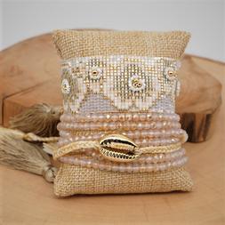 Bohemian Bracelet MIYUKI Beads Bracelet For Women Summer Arm