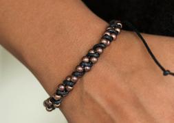 Paparazzi Bracelet - Beaded Bandit - Copper