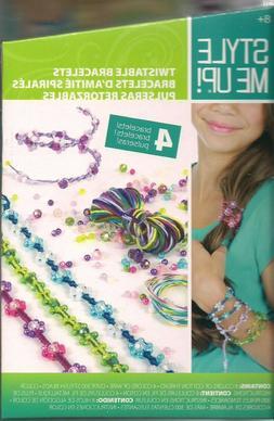 Bracelet Craft Kit Makes 4 Twistable Beaded Bracelets Style