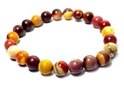Bracelet for Women, Men Elastic Natural Stone Yoga Beads Bra