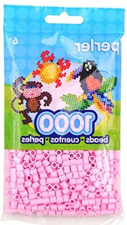 Bulk Buy: Perler Beads 1,000 Count Light Pink