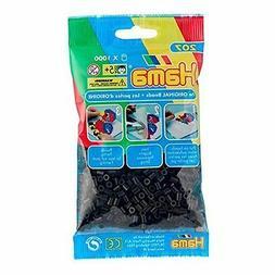 Bulk Buy: Hama Beads Black 1000 Midi Beads : 207-18