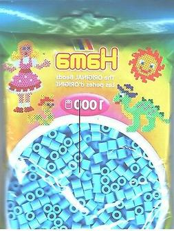 Bulk Buy: Hama Beads Pastel Blue 207-46 1000 Midi Beads