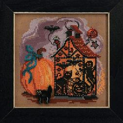 MILL HILL Buttons Beads Kit Counted Cross Stitch HAUNTED LAN