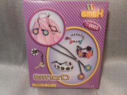 Hama Charms Set New in Box 2500 Beads Plus Templates