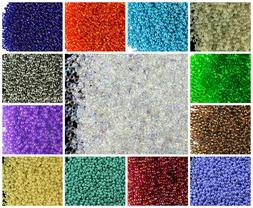 CHOOSE COLOR! 20g 11/0  Seed Beads Rocailles Preciosa Ornela