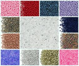 CHOOSE COLOR! 20g 8/0  Seed Beads Preciosa Ornela Czech Glas