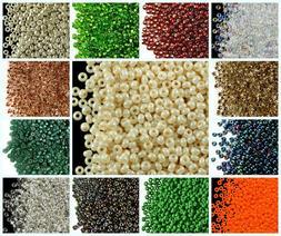 CHOOSE COLOR! 20g 8/0  Seed Beads Rocailles Preciosa Ornela