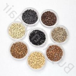 Copper Nano Micro Rings Beads for use W/ Nano Hair Extension