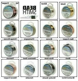 BeadSmith CRAFT WIRE Tarnish Resistant, Silver Plated