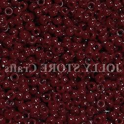 500 Cranberry color 9x6mm Pony Beads for rave kandi  jewelry