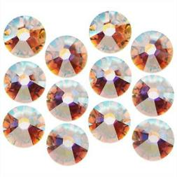 Swarovski Crystal,Round Flatback Rhinestone Hotfix SS16 3.8m