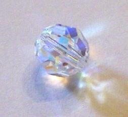 Swarovski crystal ROUND style 5000 Beads Clear Crystal AB ch
