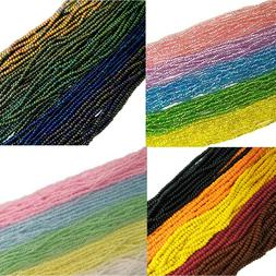 Czech 11/0 Traditional Glass Seed Beads 6 String Hank Precio