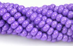 """Czech Glass Seed Beads Size 6/0 """" TERRA PEARL OPAQUE LIGHT P"""