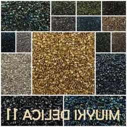 Delica 11/0 Miyuki Seed Beads 7g # 001-070