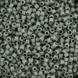 Miyuki Delica Seed Beads Size 11/0 Opaque Grey 7.2GM-Tube