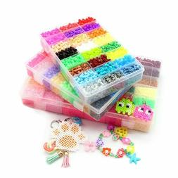 DIY Hama Beads 5mm 3d Puzzle Perler Beads Fuse Beads Kit 100